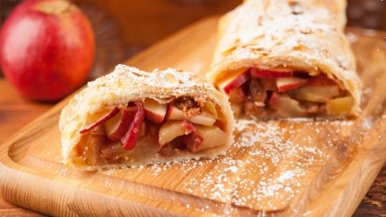 Apple Strudel is a dessert starting with a