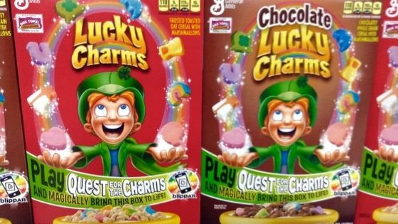 Picture of a lucky charms food starting with L